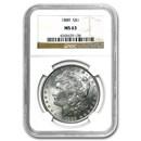 1889 Morgan Dollar MS-63 NGC