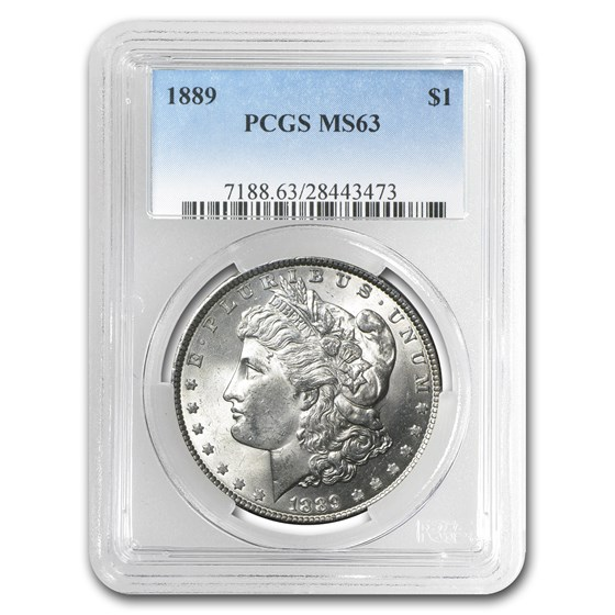 1889 Morgan Dollar MS-63 PCGS