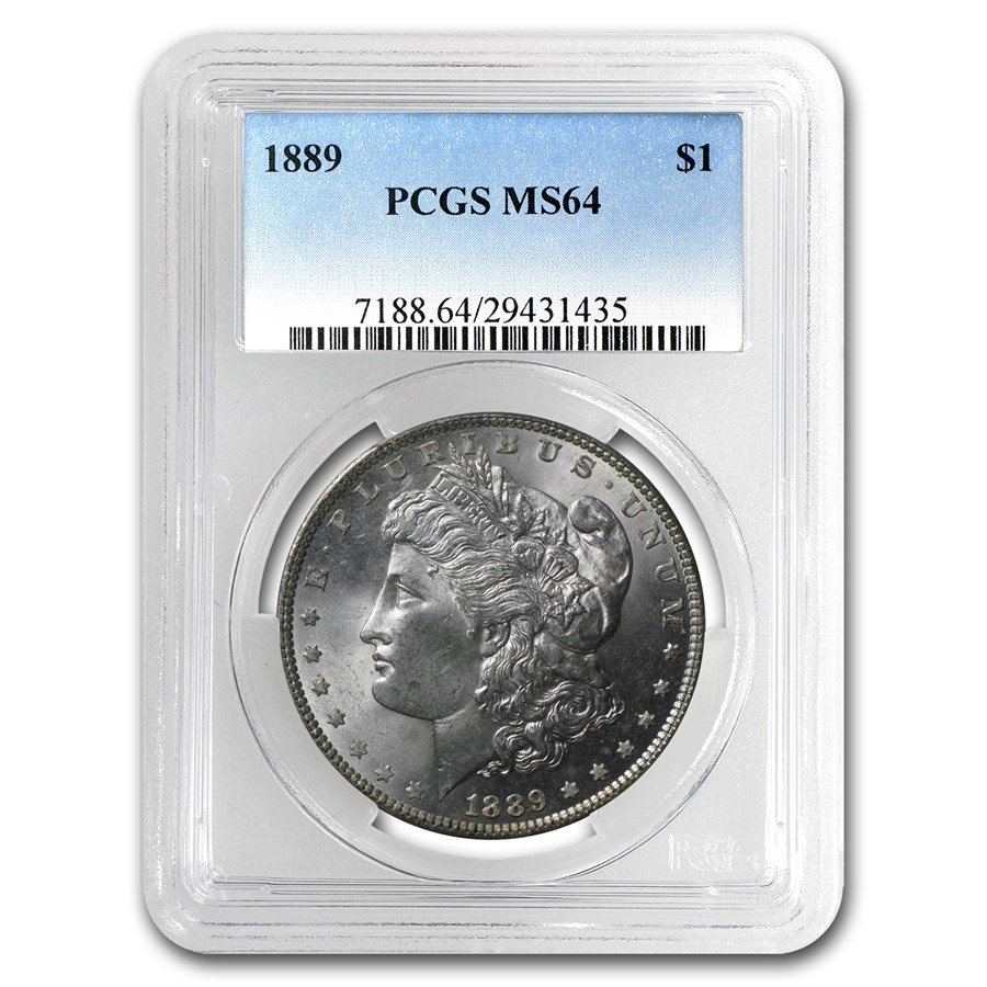 1889 Morgan Dollar MS-64 PCGS