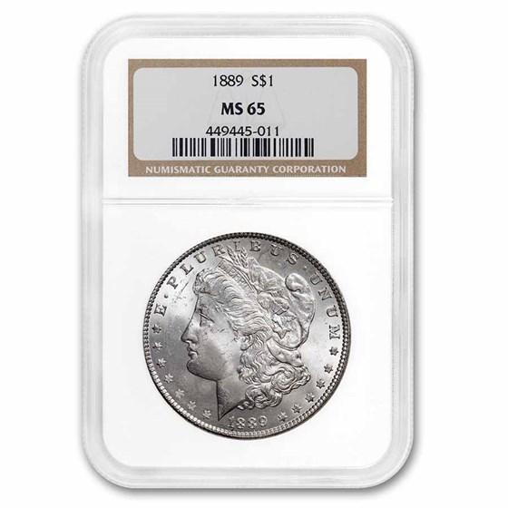 1889 Morgan Dollar MS-65 NGC