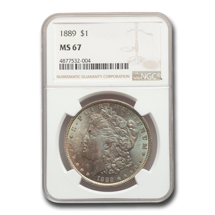 1889 Morgan Dollar MS-67 NGC