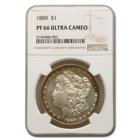 1889 Morgan Dollar PF-66 UCAM NGC