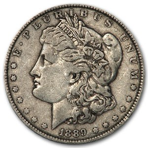 1889 Morgan Dollar VG/VF