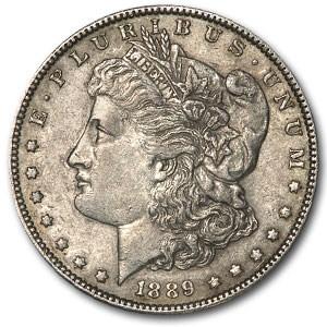 1889 Morgan Dollar XF (Barwing, Top-100)