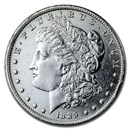 1889-O Morgan Dollar AU Details (Cleaned)