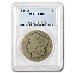 1889-O Morgan Dollar Fair-2 PCGS (Low Ball Registry)
