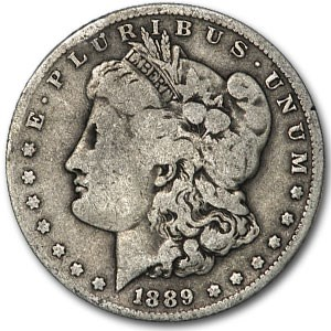 1889-O Morgan Dollar Good Oval O, (VAM, Top-100)