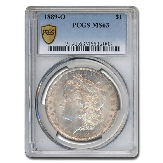 1889-O Morgan Dollar MS-63 PCGS