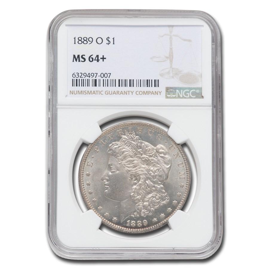 1889-O Morgan Dollar MS-64+ NGC