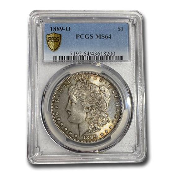 1889-O Morgan Dollar MS-64 PCGS