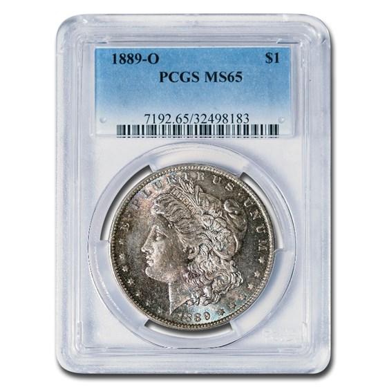 1889-O Morgan Dollar MS-65 PCGS