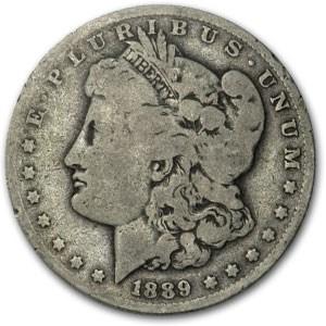 1889-O Morgan Dollar VG Oval O, (VAM-Top-100)
