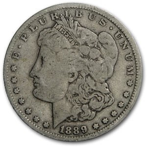 1889-O Morgan Dollar VG (VAM-6, Doubled Date, Top-100)