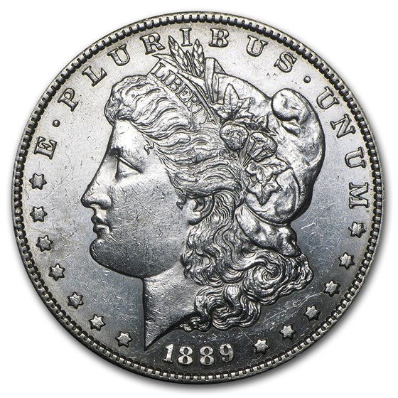 1889-S Morgan Dollar AU-58