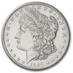 1889-S Morgan Dollar BU Details (Cleaned)