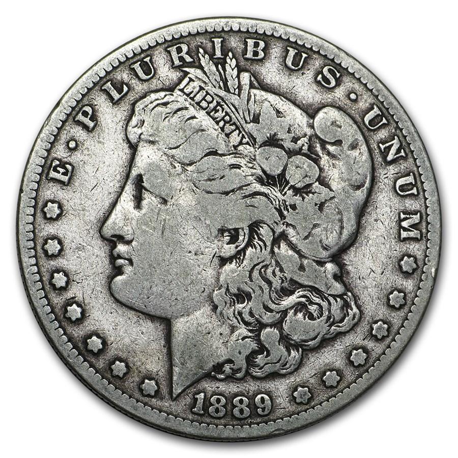 1889-S Morgan Dollar Fine