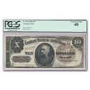 1890 $10.00 Treasury Note General Philip Sheridan XF-40 PCGS