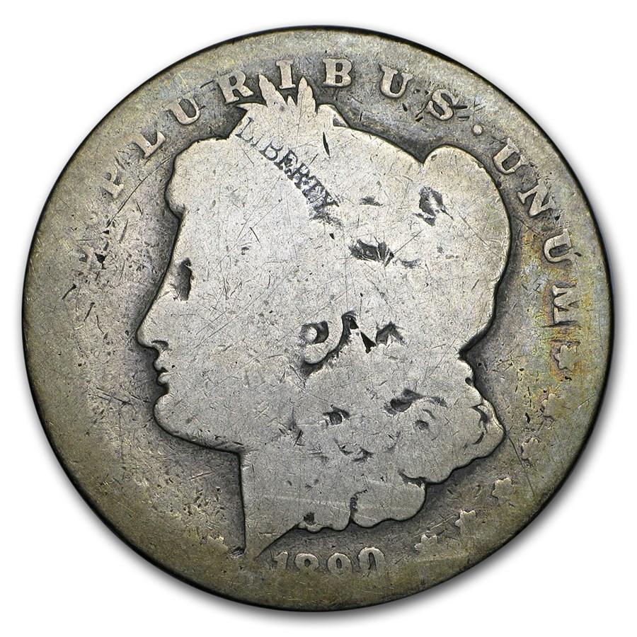 1890-CC Morgan Dollar AG