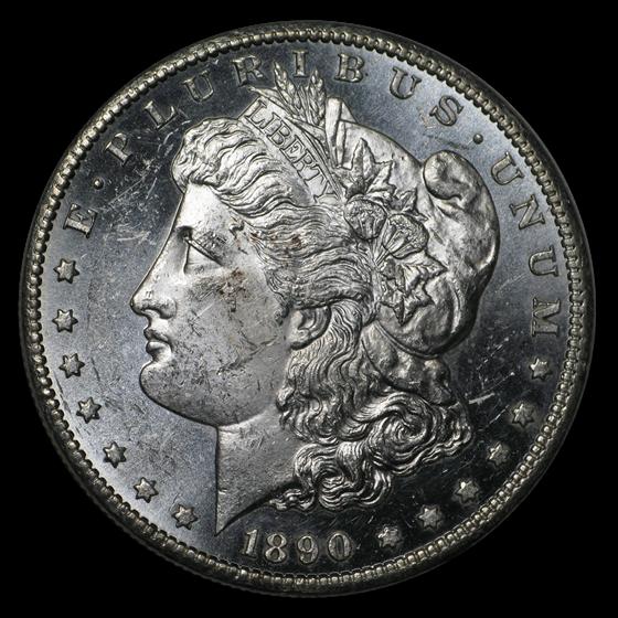 1890-CC Morgan Dollar BU (Prooflike)
