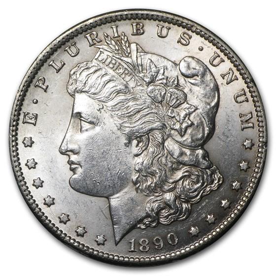 1890-CC Morgan Dollar BU