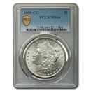 1890-CC Morgan Dollar MS-64 PCGS