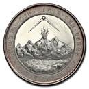 1890 German States Elberfeld Silver Medal SP-64 PCGS