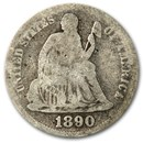 1890 Liberty Seated Dime Good