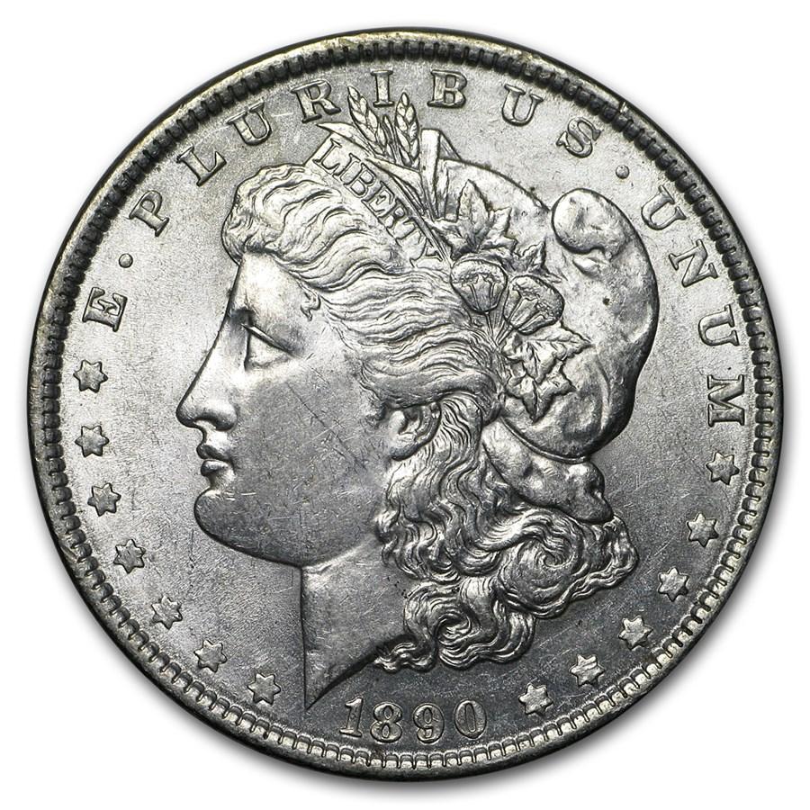 1890 Morgan Dollar AU