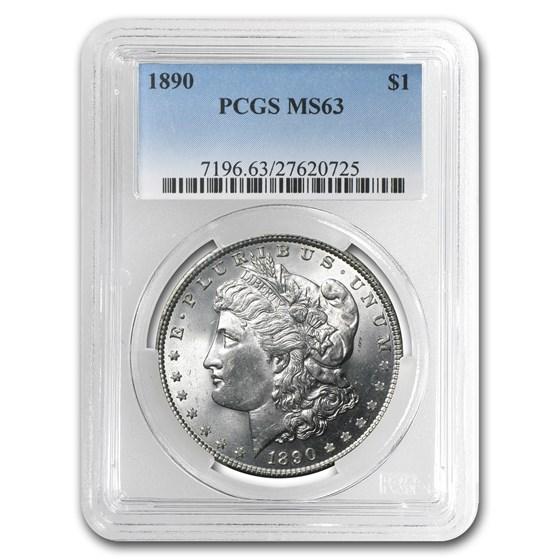 1890 Morgan Dollar MS-63 PCGS