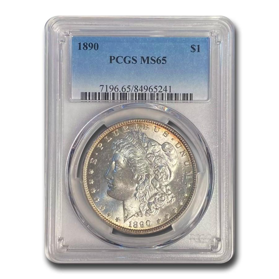1890 Morgan Dollar MS-65 PCGS