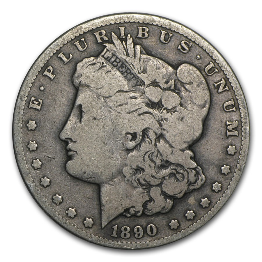 1890 Morgan Dollar VG/VF