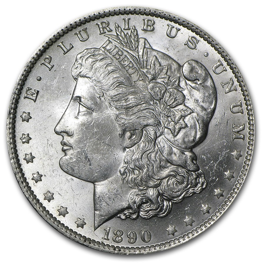 1890-O Morgan Dollar BU
