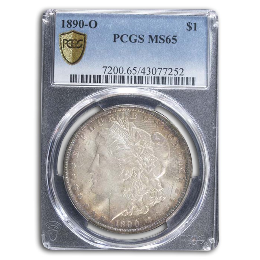 1890-O Morgan Dollar MS-65 PCGS