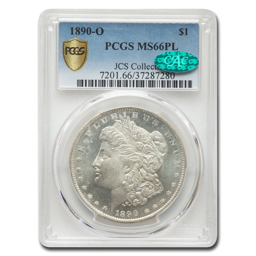 1890-O Morgan Dollar MS-66 PCGS CAC (PL)