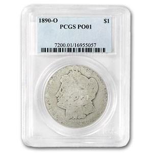 1890-O Morgan Dollar Poor-1 PCGS (Low Ball Registry)