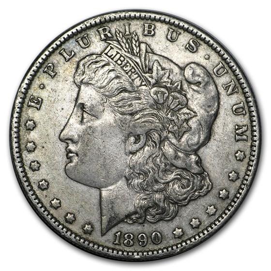1890-O Morgan Dollar XF