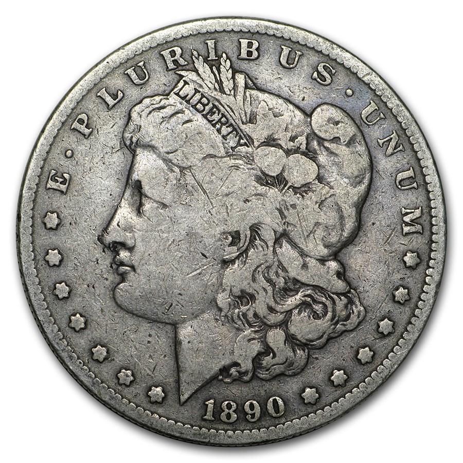 1890-S Morgan Dollar VG/VF