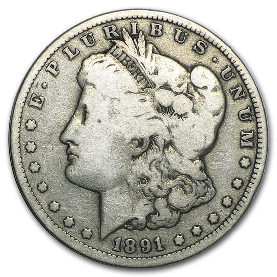 1891-CC Morgan Dollar Good