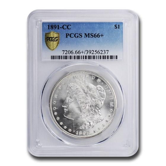 1891-CC Morgan Dollar MS-66+ PCGS
