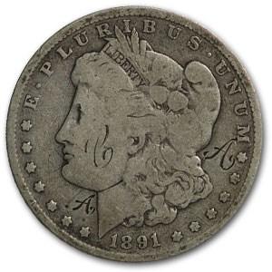 1891 Morgan Dollar - Love Token C A A