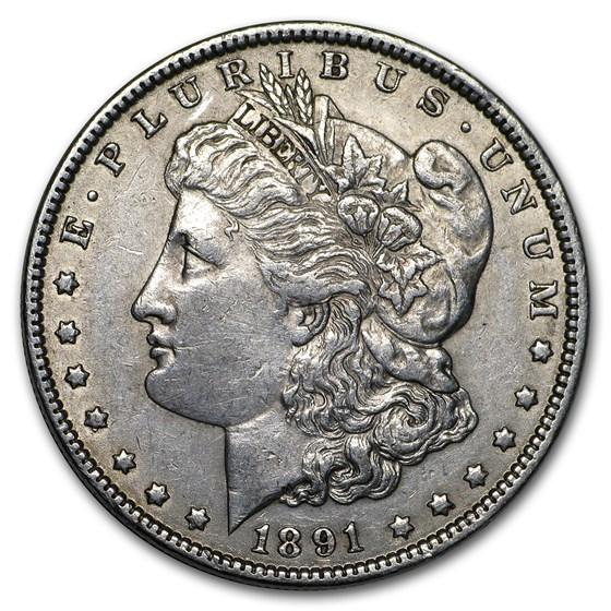 1891 Morgan Dollar XF