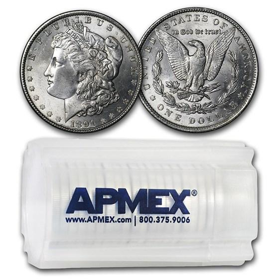 1891 Morgan Dollars BU (20 Count Roll)