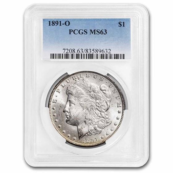 1891-O Morgan Dollar MS-63 PCGS