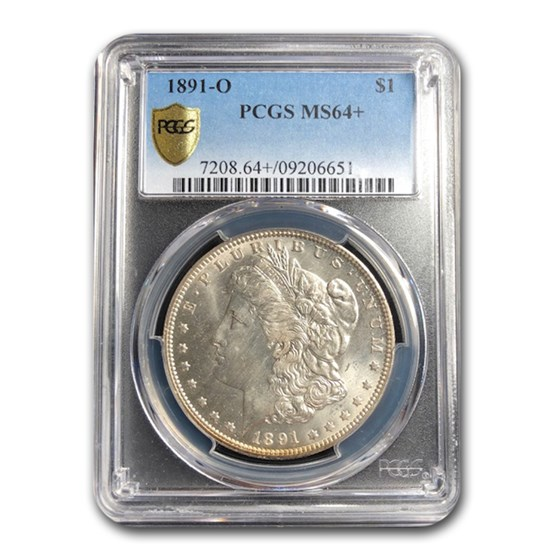 1891-O Morgan Dollar MS-64+ PCGS