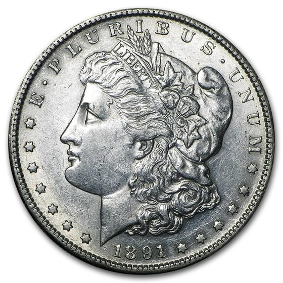 1891-S Morgan Dollar AU