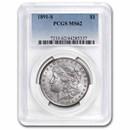 1891-S Morgan Dollar MS-62 PCGS