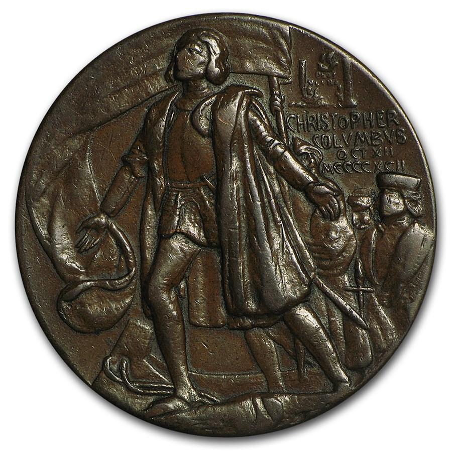 1892-93 Columbian Exposition Bronze Medal