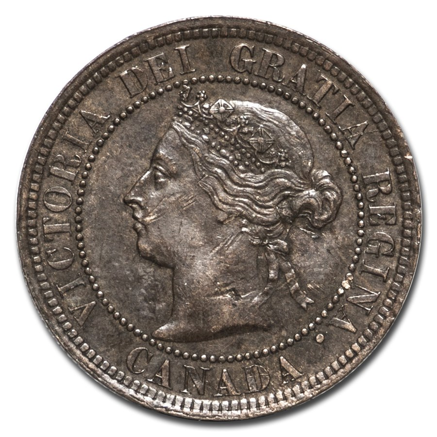 1892 Canada Large Cent XF