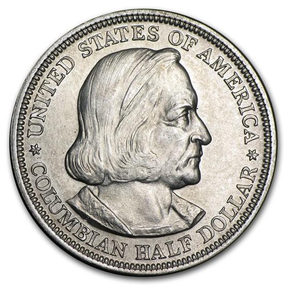 1892 Columbian Expo Half Dollar BU