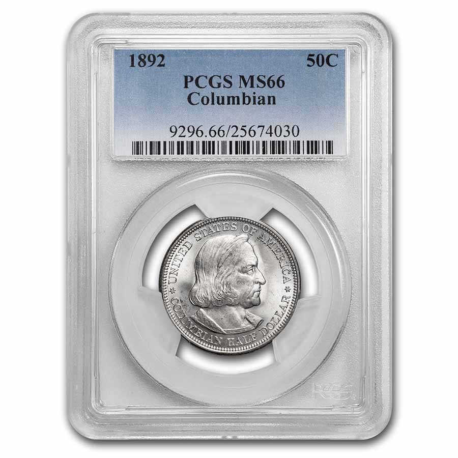 1892 Columbian Expo Half Dollar MS-66 PCGS